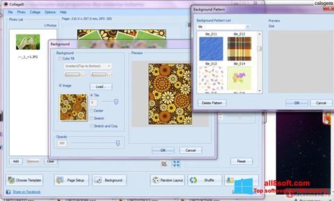 સ્ક્રીનશૉટ CollageIt Windows 8