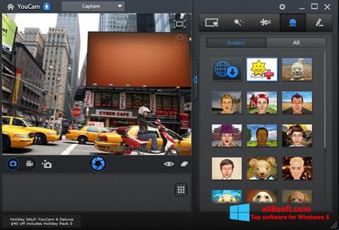 સ્ક્રીનશૉટ CyberLink YouCam Windows 8