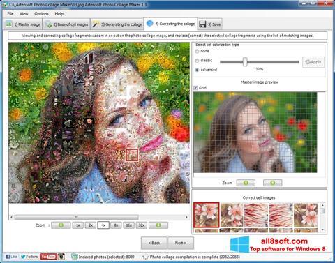 સ્ક્રીનશૉટ Photo Collage Maker Windows 8