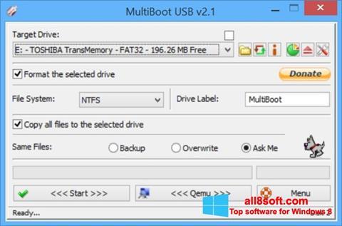 સ્ક્રીનશૉટ Multi Boot USB Windows 8
