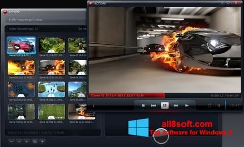 સ્ક્રીનશૉટ Action! Windows 8