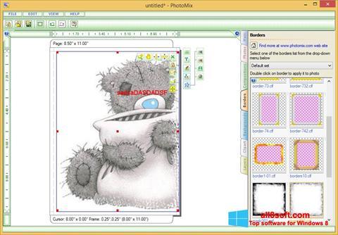સ્ક્રીનશૉટ PhotoMix Collage Windows 8
