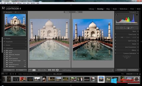 સ્ક્રીનશૉટ Adobe Photoshop Lightroom Windows 8