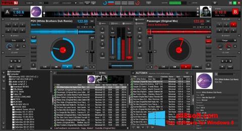સ્ક્રીનશૉટ Virtual DJ Windows 8