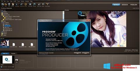 સ્ક્રીનશૉટ ProShow Producer Windows 8