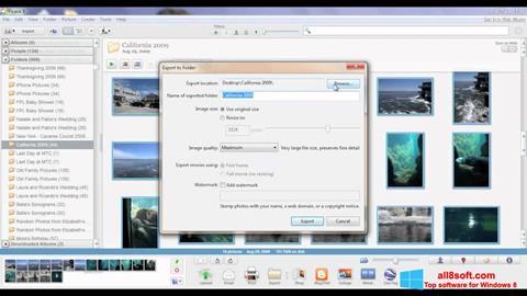 સ્ક્રીનશૉટ Picasa Windows 8