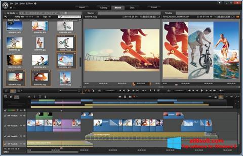સ્ક્રીનશૉટ Pinnacle Studio Windows 8