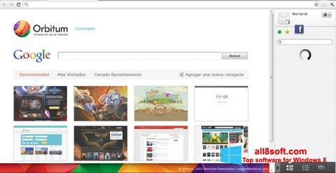 સ્ક્રીનશૉટ Orbitum Windows 8