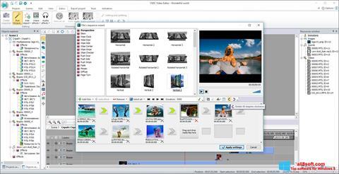 સ્ક્રીનશૉટ VSDC Free Video Editor Windows 8