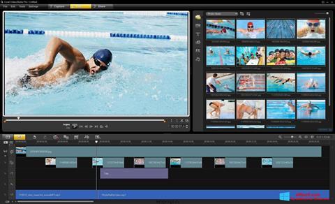 સ્ક્રીનશૉટ Corel VideoStudio Windows 8