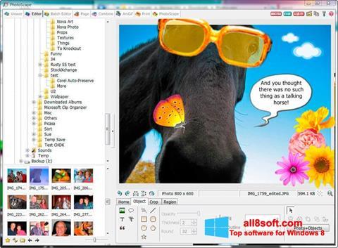 સ્ક્રીનશૉટ PhotoScape Windows 8