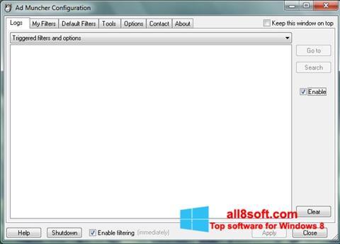 સ્ક્રીનશૉટ Ad Muncher Windows 8