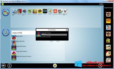 સ્ક્રીનશૉટ BlueStacks Windows 8