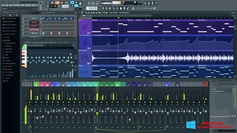 સ્ક્રીનશૉટ FL Studio Windows 8