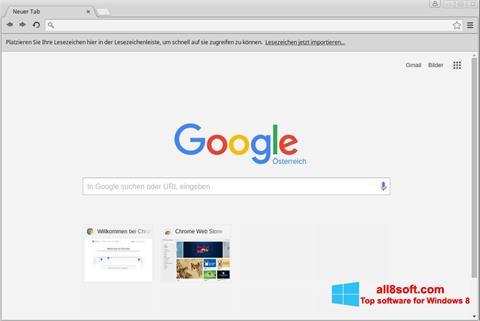 સ્ક્રીનશૉટ Google Chrome Windows 8