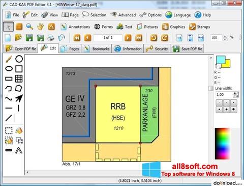 સ્ક્રીનશૉટ PDF Reader Windows 8